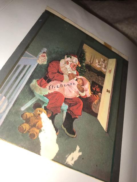 Christmas card 1971