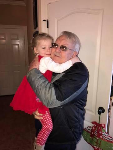audrey hugging grandfather