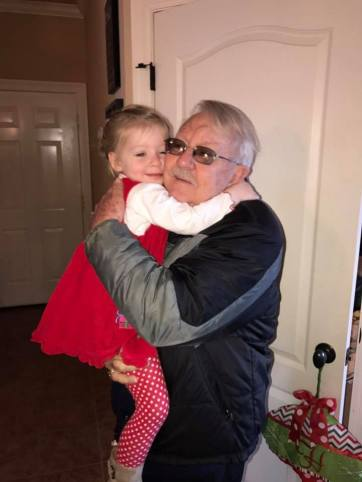 audrey hugging grandfather